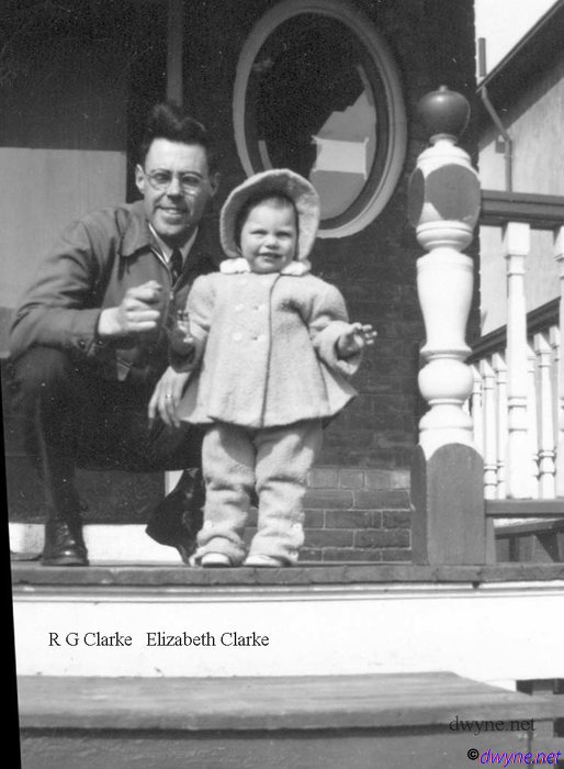 1946 Ron Clarke & Elizabeth copy